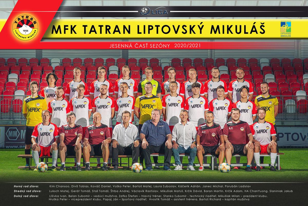MFK Tatran Liptovský Mikuláš 2020/2021