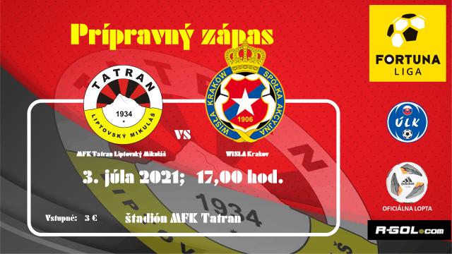 Dnešný prípravný zápas proti Wisle Krakov môžte sledovať online